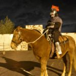 Guard on horseback